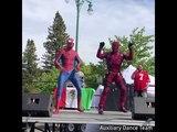 Дэдпул и Человек паук станцевали под песню Shake It Off