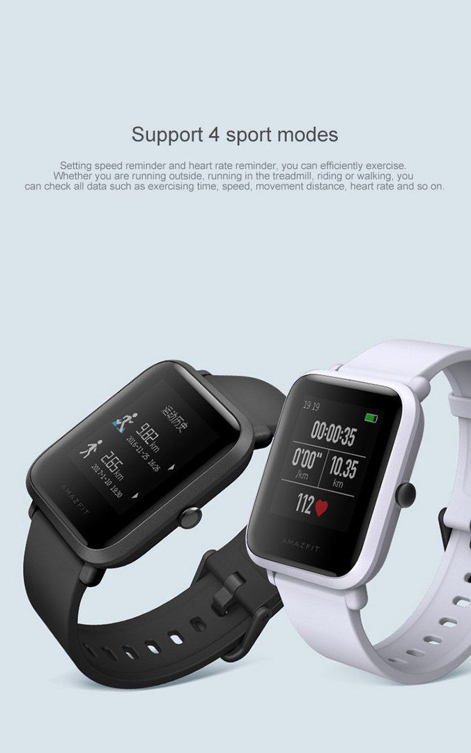 Xiaomi Amazfit Bip новые Смарт-часы
