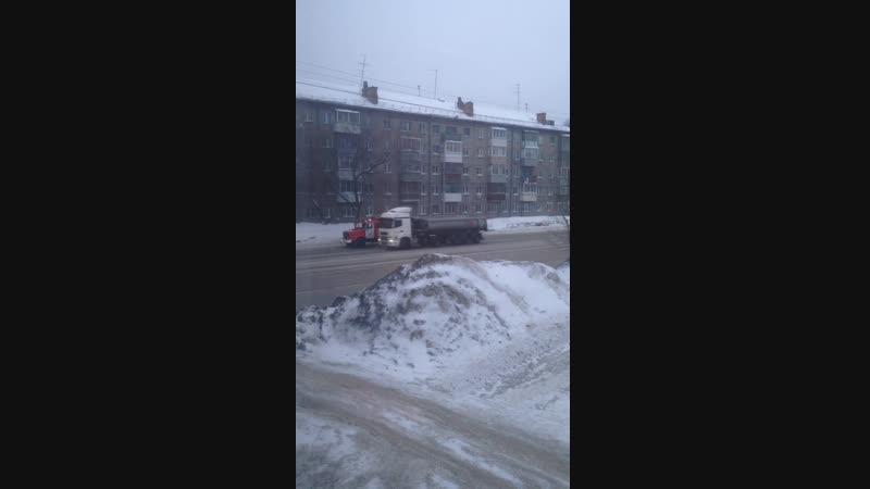 Пожар на промышленной Дзержинский район