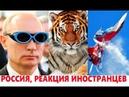 КОММЕНТАРИИ ИНОСТРАНЦЕВ О РОССИИ 65 ЧАСТЬ Путин в очках VIAR Наш СУ 27 выгнал F 15
