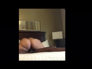 Homemade interracial video of pawg riding bbc 9 minutes straight!!! - big ass butts booty tits boobs bbw pawg curvy mature milf