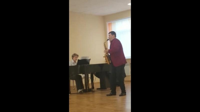 И.С.Бах - речитатив из органного концерта 3( переложение М.К.Шапошниковой)
