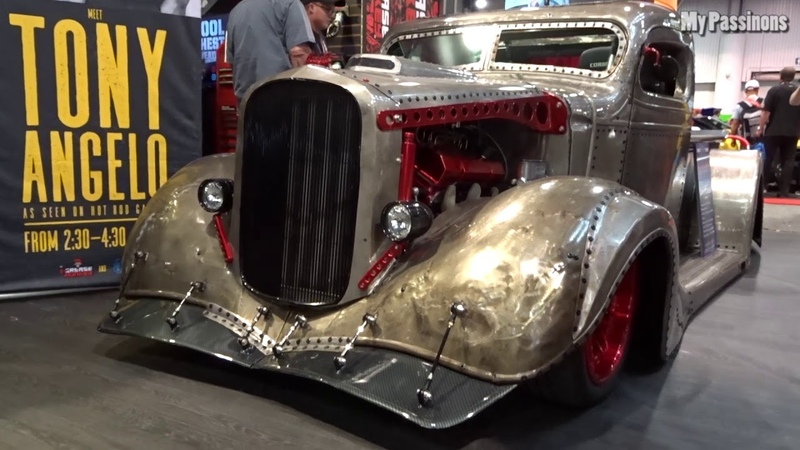 Muscle Car Hot Rod's Rad Rod's Street Rod's Truck Rod's SEMA 2018 - Las Vegas