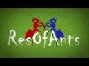 VIDEO x16 Ant wars Муравьиная ферма ResOfAnts Муравьи Ants Day 9