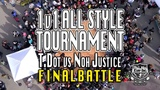 T.Dot vs Noh Justice FINAL TURFinc Cinco De Mayo 1 v 1 All Style Tournament at Jack London Square