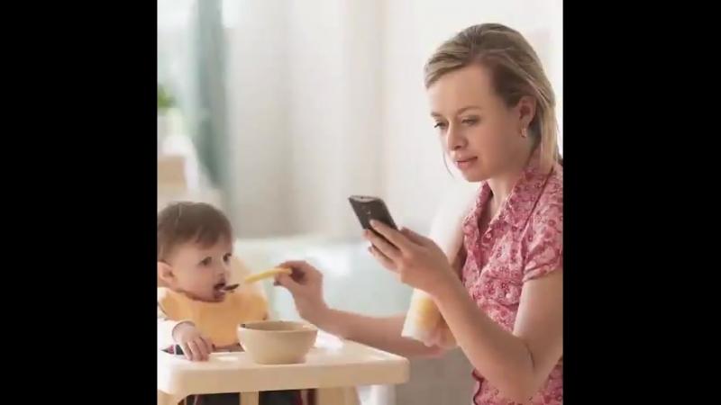 Telefonlarınıza değil, bize bakın! - - Çocuklar anne ve babalarının aşırı cep telefonu kul.mp4