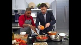 WEDNESDAY Scandal Star Katie Lowes &amp Cooking with Chef J.J. Johnson