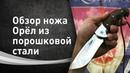 Нож Орёл из стали Elmax - Обзор нож Кузницы Назарова В.В.