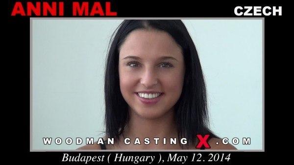Anni Mal on porn casting Woodman (Czech Republic) 2014