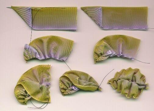 Как сделать листок из ленты (1 фото) - картинка