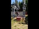 Отключение отделителя 110 кВ