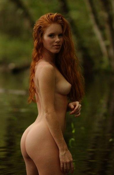 Фото рыжих голых женщин