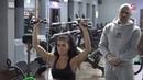 Чемпионка Мира по Фитнес Бикини Мария Бархударова. Тренировка на плечи!
