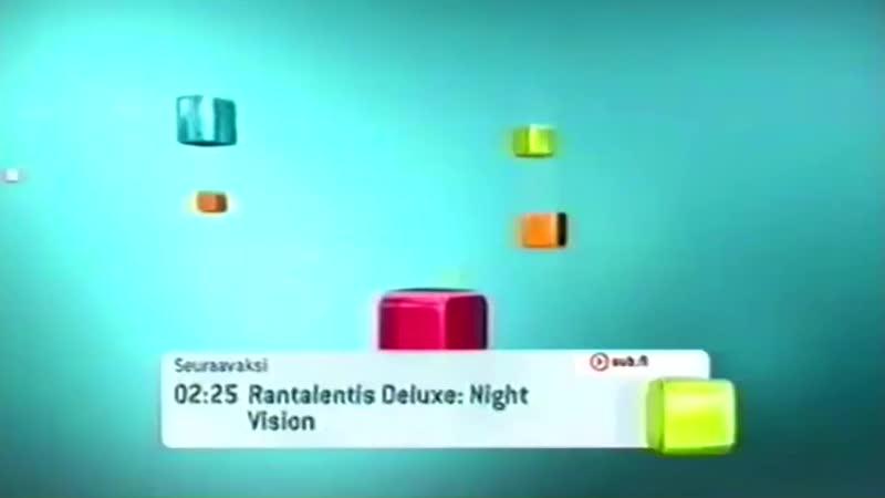 Концовка программы передач, конец эфира и начало перегона (Sub [Финляндия], 23.07.2010)
