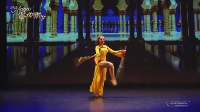 Julia Mitsai. Saidi - Salamat. The magic of Silk way. Geneva, Switzerland. 23631
