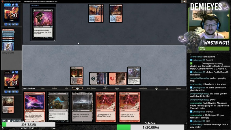Waste Not Bedlam Reveler and his birdies! Can we snag this 5-0?