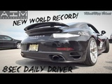 8.80 14 Mile Porsche Turbo Streetcar! New World Record