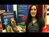 Melissa Bachman of North American Hunter demo's ThermaCELL Heated Insoles