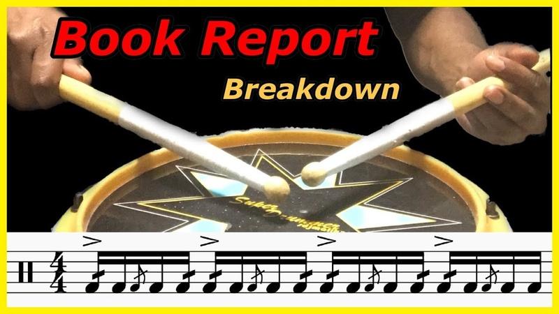 Book Reports Breakdown   Hybrid Rudiments