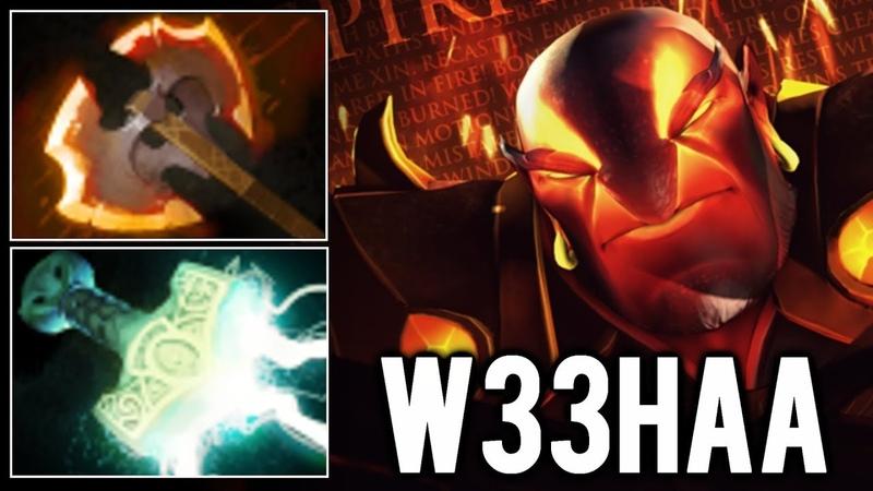 W33 Ember Spirit Battle Fury Mjollnir - Beautiful Plays