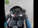 Отправил мотоциклиста в полет