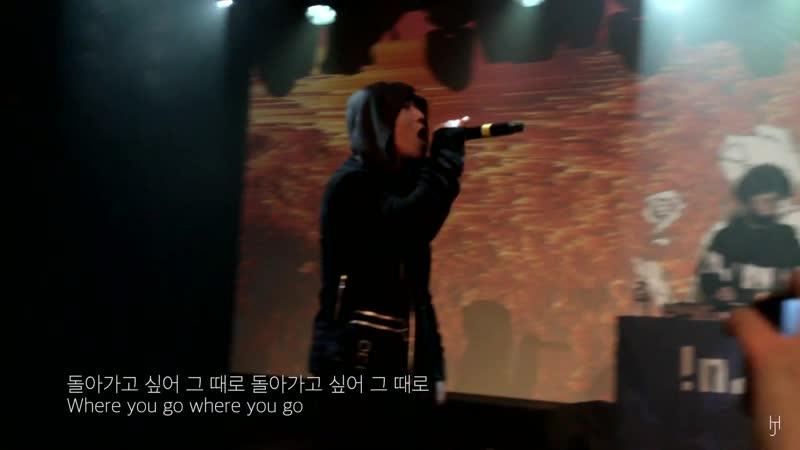 [LIVE] 영비 (Young B) - ROSE (Feat. Skinny Brown (스키니브라운) Homeboy (홈보이)) (190309)