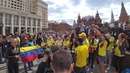 Колумбийские фанаты зажигают на ЧМ-2018, Colombian fans, Los fanáticos colombianos World Cup 2018