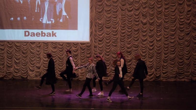 Косплей фестиваль Тогучи Super Junior - Black Suit   cover by DAEBAK