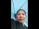 မိုးထဲေလထဲမွာပဲတပ္မေတာ္ေထာက္ခံပြဲကိုအားေပးခဲ့ပါတယ္ေေေ