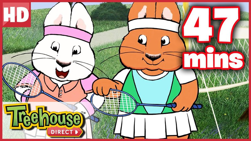 Max and Ruby | Sports Challenge PART 2 Compilation! | Funny HD Cartoons for Kids By Treehouse Direct