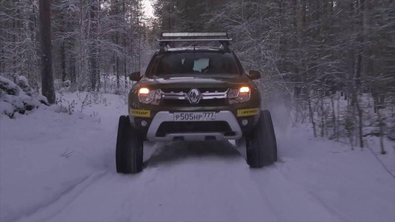 Приключения Renault Duster в Заполярье