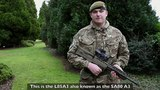 SA80 A3 Weapons &amp Equipment British Army