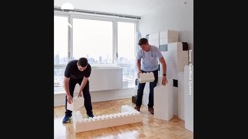 Модульная система строительных блоков