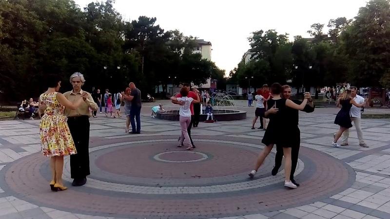 Танго в парке им. Тренева 29.06.18 1часть