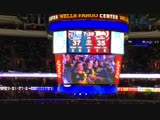 Dignitas received a special shout out at the Sixers game tonight!