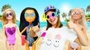 Ayşe, Asu Ela, Barbie ve Monster High plaja gidiyorlar!