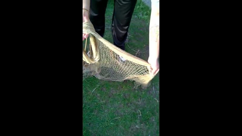 Как забрасывать рыболовный парашют (кастинговая сеть)