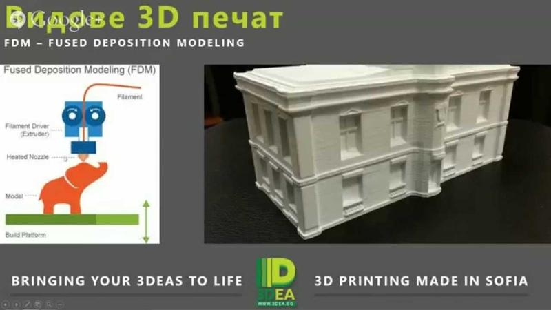 ONLINE Семинар - 3D Printing в Архитектурата
