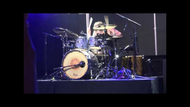 Moritz Müller (The Intersphere) Live Drum Session (Musikmesse 2012)