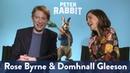Rose Byrne Domhnall Gleenson's Pick Up Lines