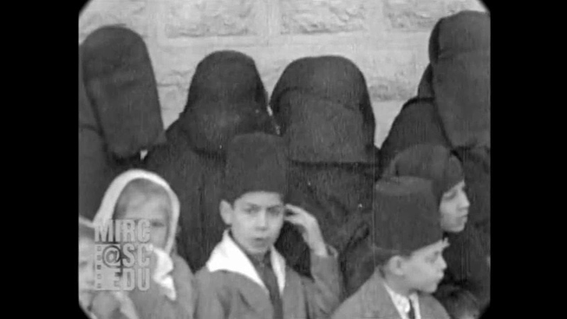 1931 Street Scenes in Damascus Syria real sound