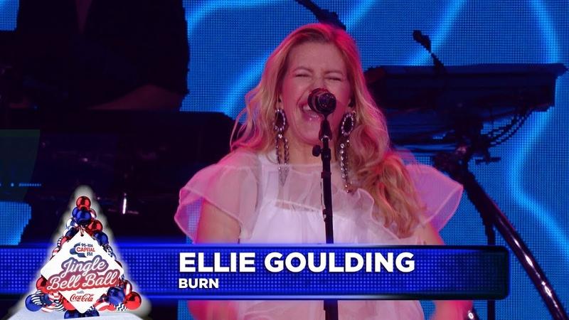 Ellie Goulding 'Burn' Live at Capital's Jingle Bell Ball 2018