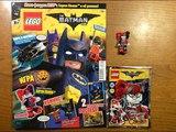 Обзор нового журнала Lego Batman Movie #2 за 2018 год Минифигурка Харли Квинн