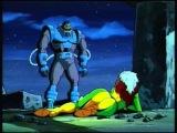 Люди Икс Мультсериал (1992) Отрывок с Задницей Руж  / X-men Cartoon : Rogue's magnificent ass.
