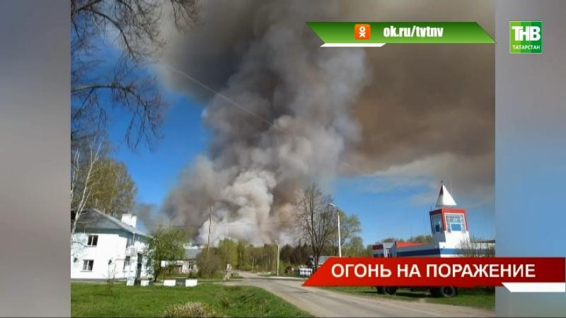 В соседней Удмуртии из-за пожара вновь сдетонировали боеприпасы - ТНВ