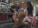 33 yo saleswoman candid sexy soles)