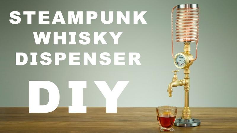 DIY Steampunk WhiskyLiquor Dispenser How To Make
