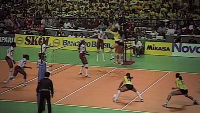 Documentário Pátria - Brasil x Cuba Atlanta 1996 volei feminino