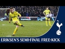 Christian Eriksen's Stunning Free-Kick | Sheffield United 2-2 Spurs