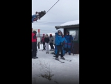 Когда первый раз встал на сноуборд